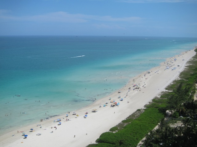 VIEW FROM UNIT TO SOUTH BEACH