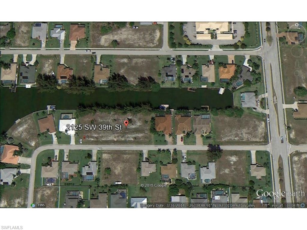 Lot Cape Coral, 2125 SW 39 St.